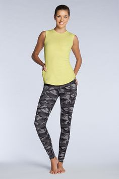 "Camo love for our January collection. Get ""Innovate"" and become inspired to rock your workout. Re-pin to win #Fabletics"