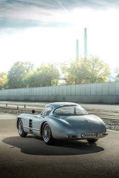 Mercedes-Benz 300 SLR, photographed at Mercedes-Benz Stuttgart-Unterturkheim test track, Germany