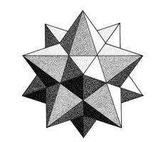 geometric 3d drawing behance dotwork geometry drawings sacred stippling tattoo pencil patterns designs pattern sketches doodle dibujo mandala shapes pen