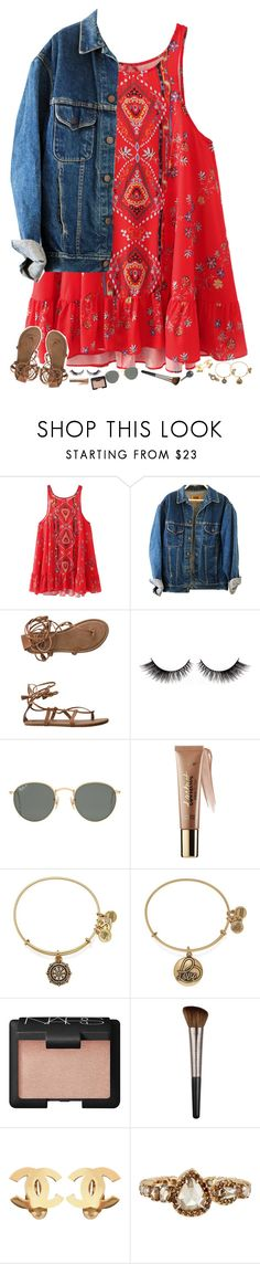 """""""A is for Alex and Ani"""" by tortor7 ❤ liked on Polyvore featuring Billabong, Ray-Ban, tarte, Alex and Ani, NARS Cosmetics, Urban Decay, Chanel, Sharon Khazzam and Cherokee"""
