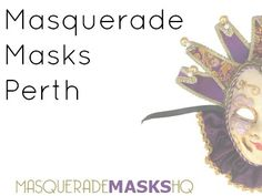 Masquerade Masks Perth - http://www.masquerademask.com.au/masquerade-masks-perth/