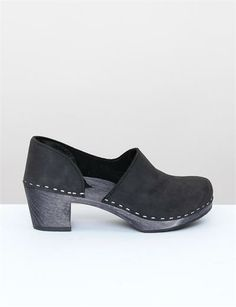 Creatures of Comfort x Sandgrens Brett Clogs. All I want is to wear these with a pair of fuzzy wool tights.