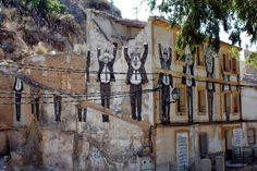Street Art News: Daniel Munoz SAN New Mural - Blanca, Spain
