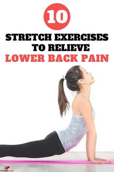 10 Stretch Exercises That Will Help You Relieve Lower Back Pain Stretching and other light exercises can reduce the agony in your lower back. Taking the time to incorporate a few stretch exercises into. Lower Back Pain Stretches, Back Pain Exercises, Low Back Pain, Best Stretches, Daily Stretches, Yoga Exercises, Scandal, Back Pain Relief, Back Muscles