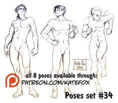 Kate Fox is creating Comics, 2D art, pose-study sets and fox-illustration   Patreon