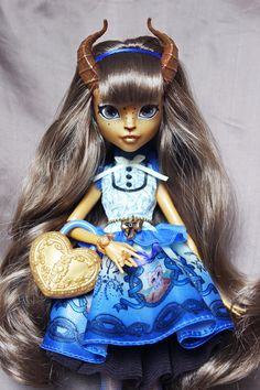 monster high repaint | Tumblr