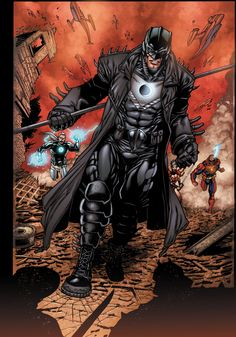 The Midnighter ... the Original, not the lame DC New 52 version!