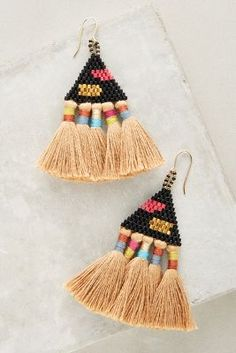 Tali Tassel Earrings | Anthropologie