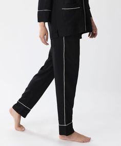 Pantalón ribete crudo - Ver Todo - Tendencias AW 2016 en moda de mujer en Oysho…