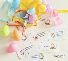 Påskerebus gratis print // Easter egg hunt free printable Påske // Eggjakt // Rebus // Skattejakt // Gratis print