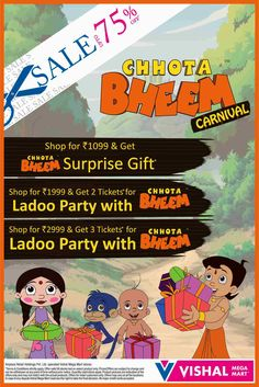 CHHOTA BHEEM PRESS ADVT