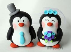 Penguin Wedding Cake Topper   Flickr - Photo Sharing!