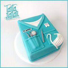 Buen día para todos!!! :D para los odontólogos también hay torta!!!:D  #tarta #torta #cake #pastel ...