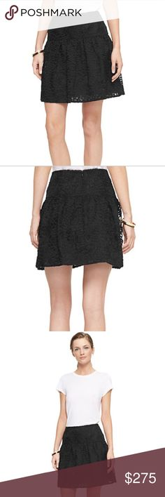 Kate Spade rose organza Do Wonders skirt-NWT! Kate Spade rose organza Do Wonders skirt-NWT! Zips on back! Lined underneath. kate spade Skirts