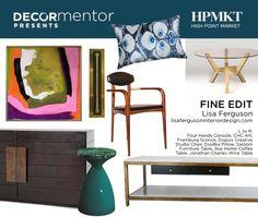 Fine Edit curated by Lisa Ferguson for @HighPointMarket #HPmkt