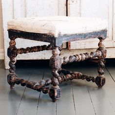 17th century Swedish baroque stools.