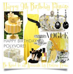 """""""Happy 9th Birthday!"""" by cristine-rosa on Polyvore featuring Alexander McQueen, Chanel, Art for Life, Pandora, Mark Broumand, David Yurman, Diana Vreeland Parfums, women's clothing, women and female"""
