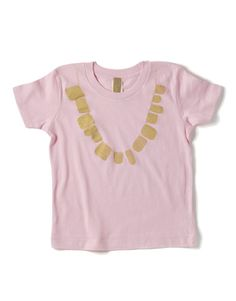 KIddies gold necklace.