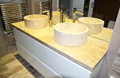 Dog Bowls, Sink, Home Decor, Granite, Sink Tops, Homemade Home Decor, Vessel Sink, Vanity Basin, Interior Design