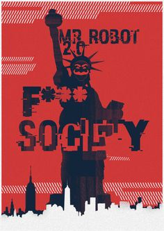 Created two variant posters to be used as promotional material for Season 2 of Mr Robot. My entry for the Posterspy contest. Alternate:  Every fav/comment is appreciated. Stores:Society6&nbsp...
