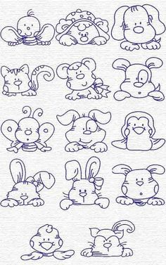 perfect for burp cloths - this sight has tons of links to all sorts of embroidery links, some with patterns, some not; I haven't found the link yet to this particular sight