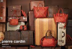 Pierre Cardin Australia W14 Fashion Campaign  #fashion #handbags #campaign #photography