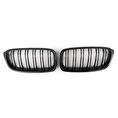 Mad Hornets - Kidney Grille Double Rib BMW F30 F35 3 Series Sedan 4 Door (2012-2015) Gloss Black , $74.99 (http://www.madhornets.com/kidney-grille-double-rib-bmw-f30-f35-3-series-sedan-4-door-2012-2015-gloss-black/)