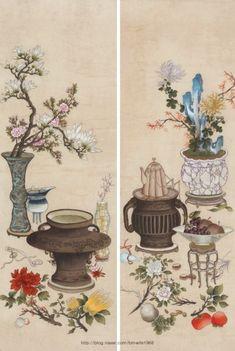 Chinese Artwork, Chinese Painting, Tibetan Art, Chinese Brush, 3 Arts, Ikebana, Japanese Art, Asian Art, Diy And Crafts