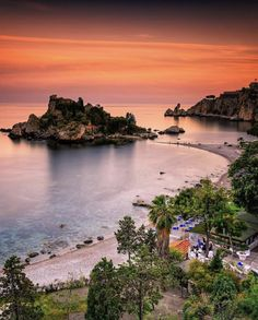 Sunset at the Isola Bella along the Sicilian coast & Photography Life Magazine, Geo Magazine, National Geographic, Taormina Sicily, Travel Wall, Sicily Italy, Messina, More Pictures, Italy Travel