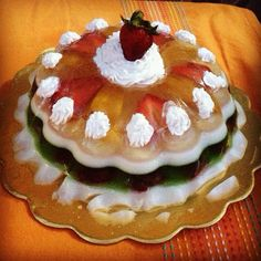 Gelatina de frutas !! Ñumi!!!