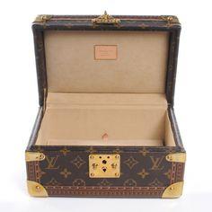 LOUIS VUITTON Monogram Coffret Tresor 24 Jewelry Case