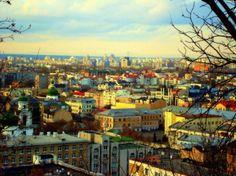 A view of Kiev, Ukraine