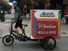 bicycle mobile food vendor png - Google Search