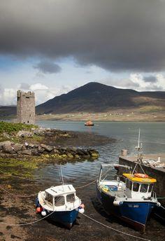 Castle Achill Island Co Mayo: Photo by Photographer Ken Barrett - photo.net