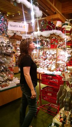 "Bronner's Super Fan --- ""For me, this is my equivalent of seeing Elvis,"" said Aliza McVicker of northwest Ohio during her most recent visit to Bronner's CHRISTmas Wonderland. Aliza has been a Bronner's super fan since her first visit to Bronner's in the 1970s when she was 9 years old."