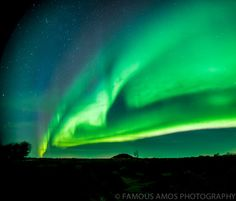 Near Grande Prairie, Alberta, Canada Northern Lights - Famous Amos Photography