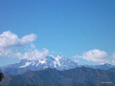 Il Monte Rosa visto dal Mottarone