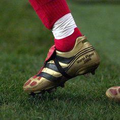 eb587dd73a1 David Beckham's Career in Football Boots - SoccerBible Soccer Boots, Soccer  Gear, Football Boots