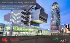 Viaje organizado al Museo del Diseño de Barcelona