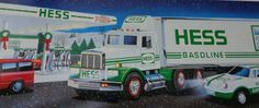 1992 Hess Gasoline Vintage Truck 18 Wheeler Racer by TheSewingBag