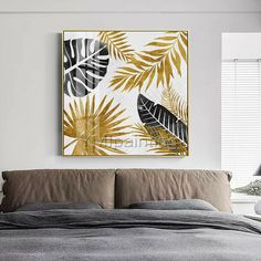 Original art modern Abstract acrylic paintings on canvas Gold leaf painting Wall pictures cuadros abstractos hand painted impasto home decor Small Canvas Paintings, Diy Canvas Art, Art Paintings, Oil Painting Abstract, Acrylic Painting Canvas, Abstract Art, Painted Leaves, Hand Painted, Picture Wall