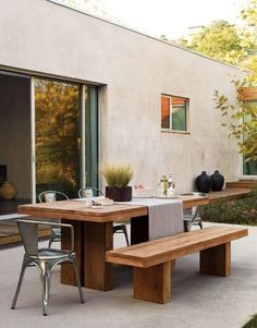 Gorgeous Outdoor Rustic Table Photo 85