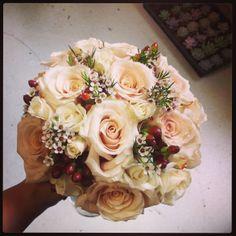 Romantic bouquet for fall weddings #weddings #bouquet