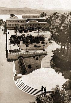 Gezi Parkı Belediye Gazinosu 1940'lı yıllar..
