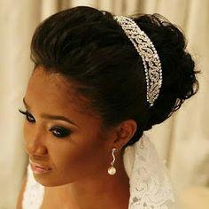 penteados para noivas negras 2016 - Pesquisa Google                                                                                                                                                                                 Mais
