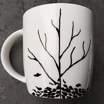 Drzewo jesień kubek, welov