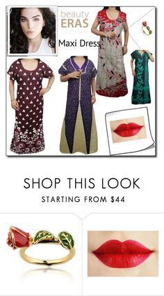 """""""Women Cotton Comfy Nightwear"""" by globaltrendzs-flipkart ❤ liked on Polyvore featuring Disney"""