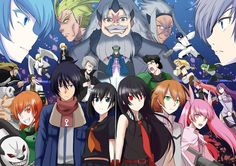 Akame Ga Kill Group picture