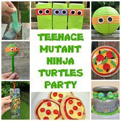 One Artsy Mama - http://www.oneartsymama.com/2014/08/epic-teenage-mutant-ninja-turtles-party.html