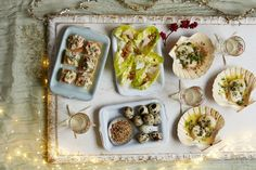 Christmas canapé recipe: Quail's eggs with dukkah  - countryliving.co.uk